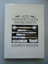 Alte zahnärztliche Instrumente 1988 Zahnmedizin