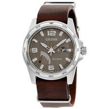 Citizen PRT Eco-drive movimiento Taupe Cuadrante Reloj para hombres AW7039-01H