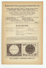 More details for huddersfield town home reserves football programmes 1927/28 ex-bound volume