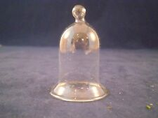 SALE*MINIATURE GLASS CLOCHE DISPLAY DOME-NO BASE (r) //FAIRY GARDEN/DOLLHOUSE
