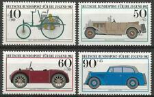 Germany (West) 1982 MNH - Transport Motor Cars Benz Mercedes Hannomag Opel Cars
