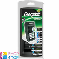ENERGIZER ACCU RECHARGE UNIVERSAL LADEGERÄT FOR AAA AA C D 9V 6F22 BATTERIES NEU