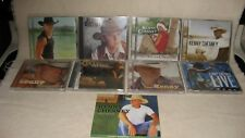 Lot of 9 Kenny Chesney Cds Country