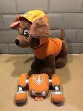 Build-A-Bear Paw Patrol Dog Zuma With Outfit & Jetpack - Nickelodeon- Plush