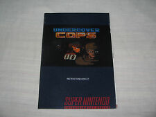 Undercover Cops Manual Only English Translated