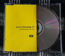 IRON MAIDEN VIRTUAL XI Rare Promo Advance listening cd CDPP 044 EMI UK