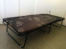 Gästebett Klappbett Klappbar mit Matraze 193 x 80 cm