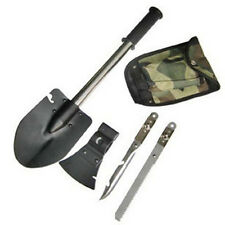 New Survival Emergency Camping Hiking Knife Shovel Axe Saw Gear Kit Tools FG