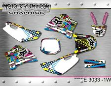 Yamaha TTR 125 2007 up to 2007 graphics decals kit Moto StyleMX