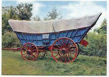 Conestoga Wagon At The American Museum In Britain, Bath PPC, by Dixon, Unposted