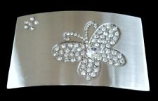 Rhinestone Art Butterfly Belt Buckle Buckles