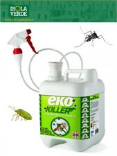 EKO KILLER EKOKILLER INSETTICIDA ANTIPARASSITARIO Spray 5 Lt. BIO insetti tutti.