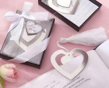 Heart Shape Bookmark Novelty Christmas Gift Souvenir Wedding Favour Favors