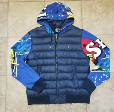 New listing Polo Ralph Lauren Suicide Downhill Ski Skier 92 Snow Beach Down Jacket LARGE