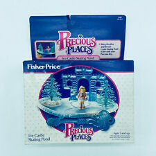 Precious Places Ice Castle Skating Pond 5187 Fisher Price 1988 Vintage New