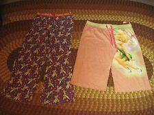 2 Women's Tinkerbell/Disney PJ Bottoms, Lg.&XLg, 1 has tag,Elastic Waist, Cute !