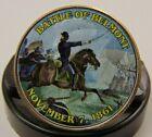 Battle Of Belmont ~ Civil War Battle ~ 2013 Colorized JFK Kennedy Half Dollar  for sale