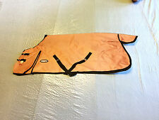 Tough 1 1200D Waterproof Poly Turnout Horse Blanket in RUST 75
