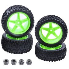 Front & Rear Buggy Tyres Wheels 12mm Hex For RC Car Redcat Shockwave Nitro Buggy