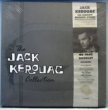 SEALED 4 LP BOX SET: THE JACK KEROUAC COLLECTION, BOOK, PHOTOS Rhino Word Beat