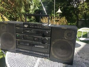 Sony CFD-460 CD Corder Radio Cassette