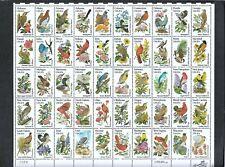 M2154 - U.S.STAMPS #1953-2002 STATE BIRDS & FL. - MINT, NH, OG, SHEET OF 50 20¢