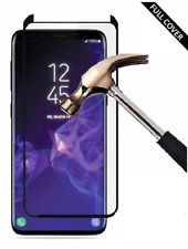 For Samsung S9+ [Case Friendly] 3D TEMPERED GLASS Screen Protector [Full Glue]
