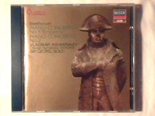 VLADIMIR ASHKENAZY GEORG SOLTI Beethoven: Piano concertos 2 - 5 cd COME NUOVO!!!