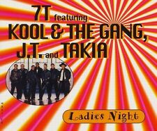 7T Featuring Kool & The Gang, J.T. And Takia Maxi CD Ladies Night - Europe (EX+/