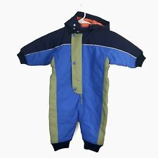 New Kids Hanna Anderson Winter Snowsuit Boys Girls Toddler Size 80 10-24 Months