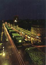Carte SUISSE LA CHAUX DE FONDS Avenue Léopold Robert La vue de nuit