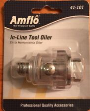 NEW Amflo #41-101 In-Line Tool Oiler - 150 PSI - Plews & Edelmann Free Shipping