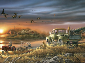 Buffalo Games - Terry Redlin - Patiently Waiting - 1000 Piece Jigsaw Puzzle