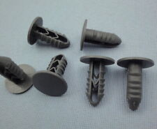 10x Verkleidung Clips Befestigung Klips Halter Panel Universal grau 8mm 438