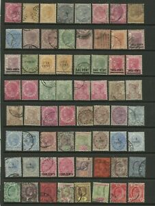 MALAYA STRAITS SETTLEMENTS Selection of M/Mint & Good used or better Stamps.