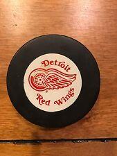 Vintage Detroit Red Wings Hockey Puck