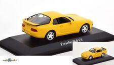Porsche 968 Cs Clubsport Speed Yellow 1:43 Minichamps Maxichamps