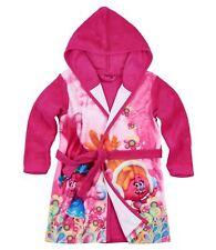 Bademantel Mädchen Die Trolls pink kuschelig weich 98 104 116 128 140 152 #140
