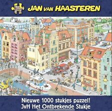 Jumbo Jan Van Haasteren The Missing Piece 1000 Piece Jigsaw Puzzle NEW SEALED