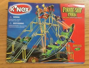 KNEX INSTRUCTION MANUAL ONLY #15139 Pirate Ship Park Book / Instructions Only