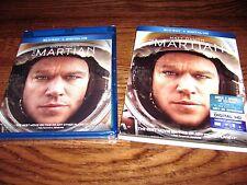 The Martian: Matt Damon (Blu-ray+ Digital HD, 2016) New;Sealed + I Ship Faster