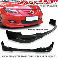 07-09 Mazda 3 Mazda3 4-Door Sedan Speed S-Model MS Front Bumper Lip (Urethane)