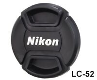 [Brand New] Nikon Lens Front Cap 52mm LC-52 Spring Type Camera Accessory Japan
