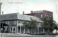 Wittenburg WI Rand House 1910 Postcard Shawano County Bowler