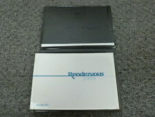 2004 Buick Rendevous SUV Owner Owner's Manual User Guide CXL CX Ultra 3.4L 3.6L