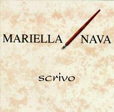 MARIELLA NAVA - Scrivo (CD 1994) RARE & OOP Import World Latin Italian Music