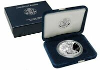 2002-W Proof American Silver Eagle with Box and COA - FREE SHIPPING USA