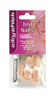 ET Elegant Touch  City Chick Just Artificial Nails French Manicure Bare