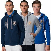Santa Monica Polo Club Mens Hoodie Sweatshirt Long Sleeved Branded Sweats Hoody