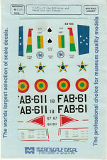 1/48 MicroScale Decals T-33 Shooting Star Brazilian Brazil Bolivian AF 48-185